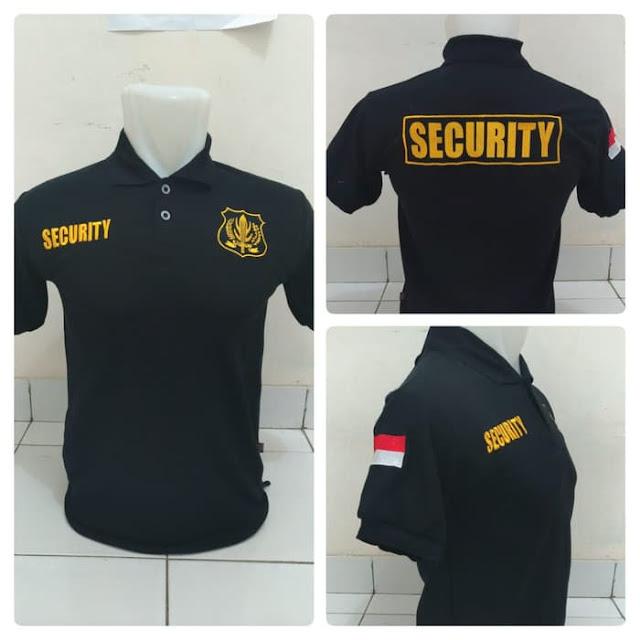 Sablon Kaos Security