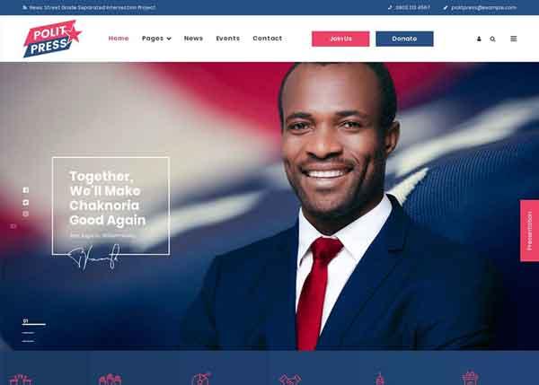 Politpress  Best Political WordPress Themes 2020