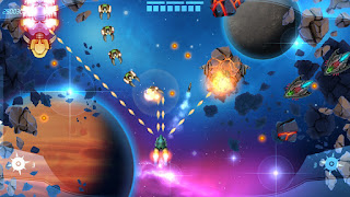 M.A.C.E. Space Shooter op de Nintendo Switch