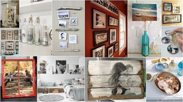 Διακοσμήσεις - Κατασκευές με Φωτογραφίες