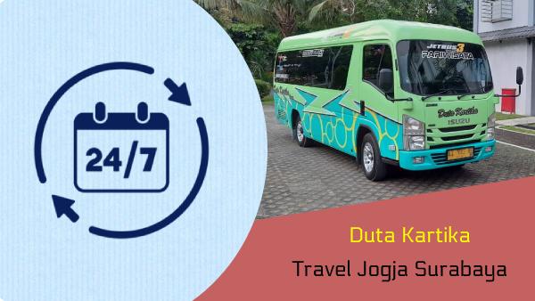 Travel Jogja Surabaya Malam Bisa Telp/WA 081804220311