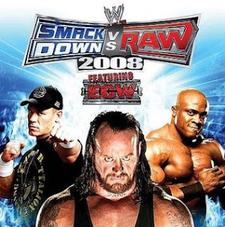 WWE Smackdown Vs Raw 2008 PSP Iso