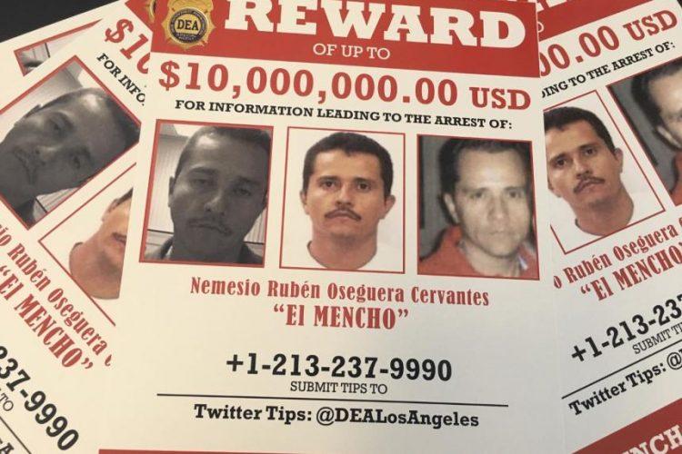 Dice la DEA que El Mencho se esconde en la sierra; no se droga; es inteligente y también disciplinado