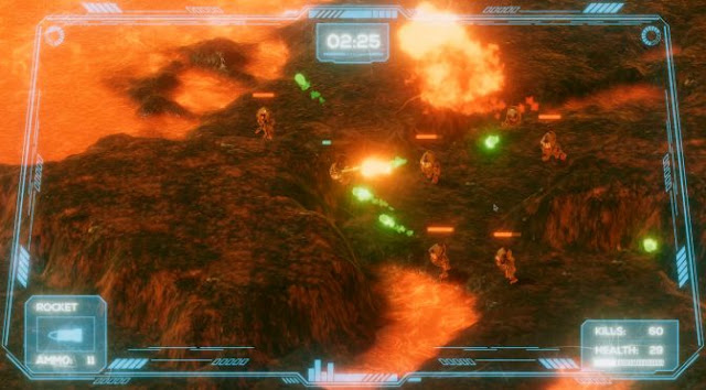 Miles Infernum هي لعبة اطلاق النار و الممرات متساوية القياسات جديدة متاحة للتنزيل بالمجان