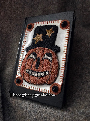 Halloween Punch Needle Books by Rose Clay at ThreeSheepStudio.com