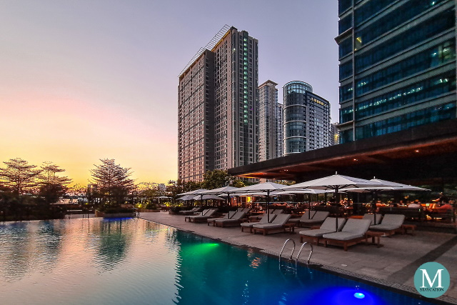 Pool House at Grand Hyatt Manila