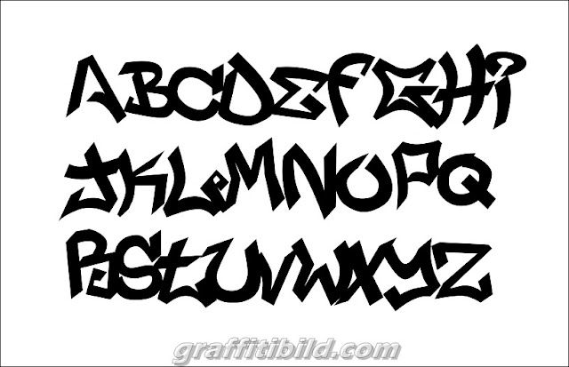 Graffiti font alphabet, graffiti tags ideas