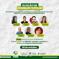Prefeitura de Picuí oferece condições necessárias para eleição de Conselheiros Tutelares