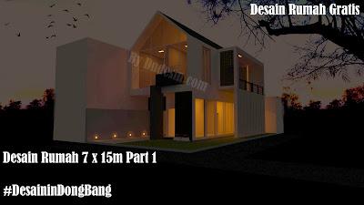 Desain rumah,desain rumah 2 lantai,desain rumah modern minimalis