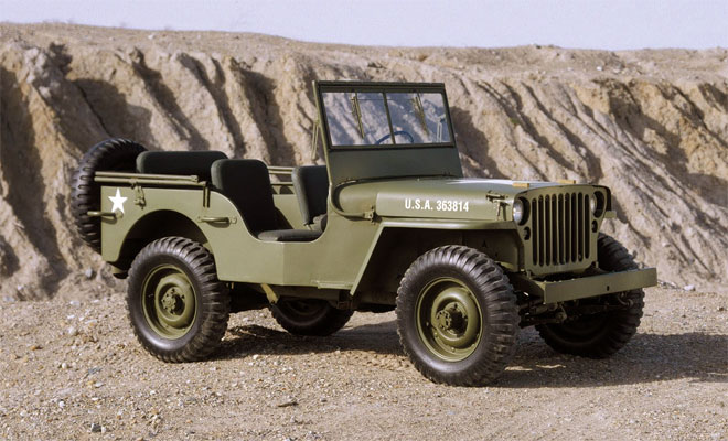 Wartime Jeep