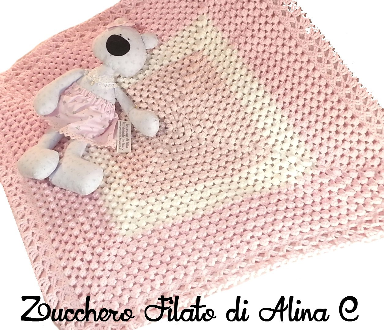 Sweet Dreams Baby Blanket This Crochet Pattern Tutorial Is