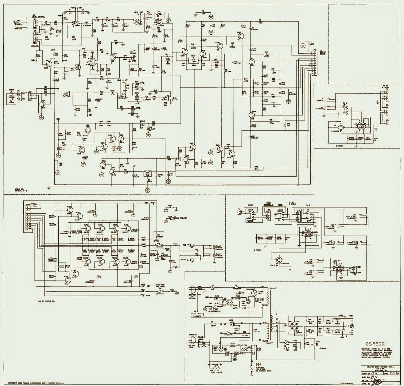 hight resolution of peavey cs 800 diagram schematic wiring diagrams u2022 gibson wiring diagrams peavey wiring diagrams