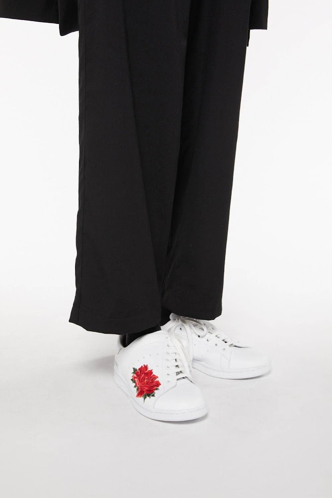Y's A/W 2020 - Adidas Stan Smith featuring Peony flower 6