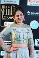 Gouri Munjal in a Tight Pista Coloured Ghagra Choli at IIFA Utsavam Awards 002.JPG