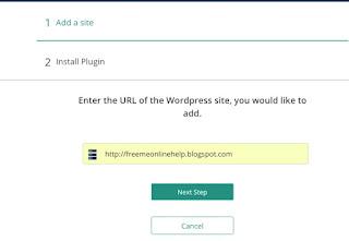 BlogVault Plugin me website kaise add kare