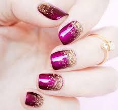 Glitter Sprinkle Nail Art