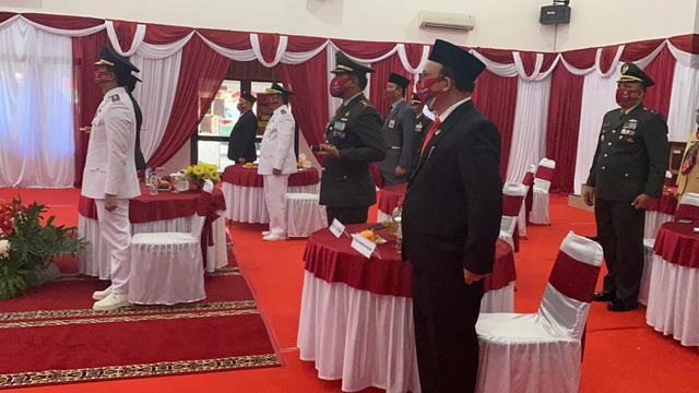Dandim 0207/Simalungun Turut Serta Laksanakan Upacara Peringati HUT RI Ke-76