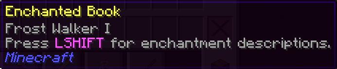 Enchantment Descriptions Mod For Minecraft 1.17
