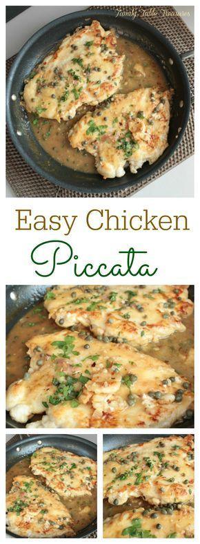 Easy #Chicken #Piccata
