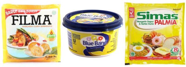 margarin dan mentega