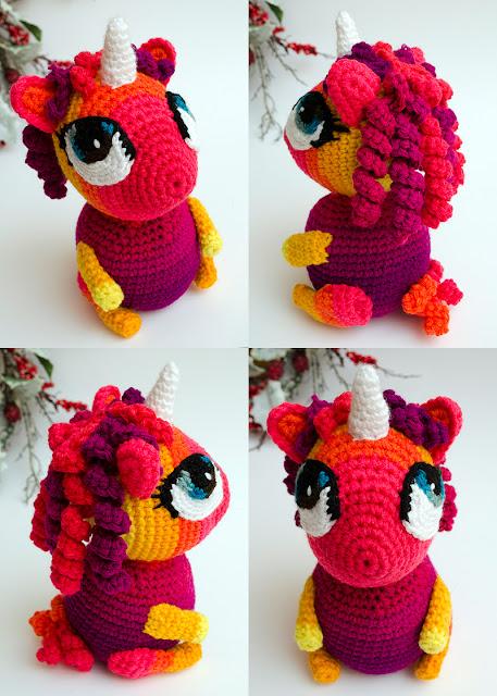 Baby Unicorn Amigurumi