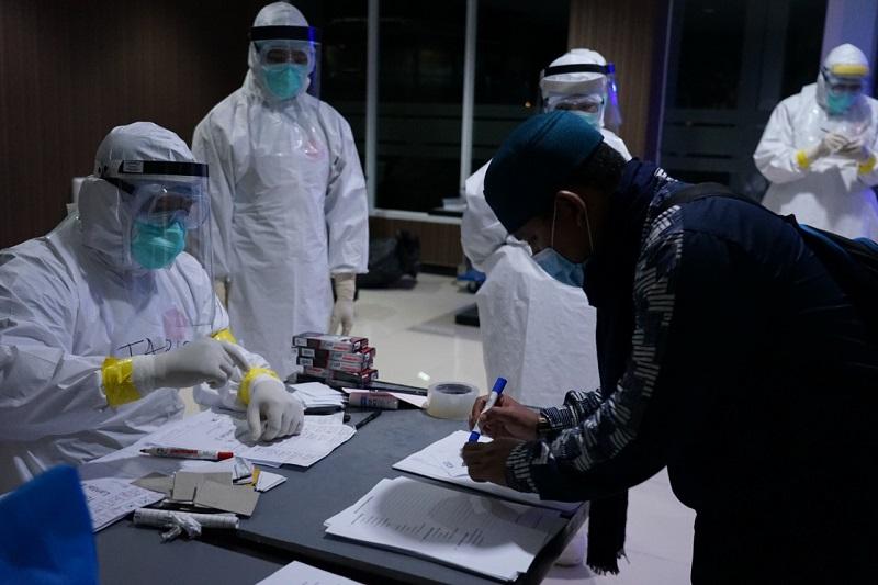 BPSDM Jabar Fasilitasi Isolasi 86 WNI dari Arab Saudi