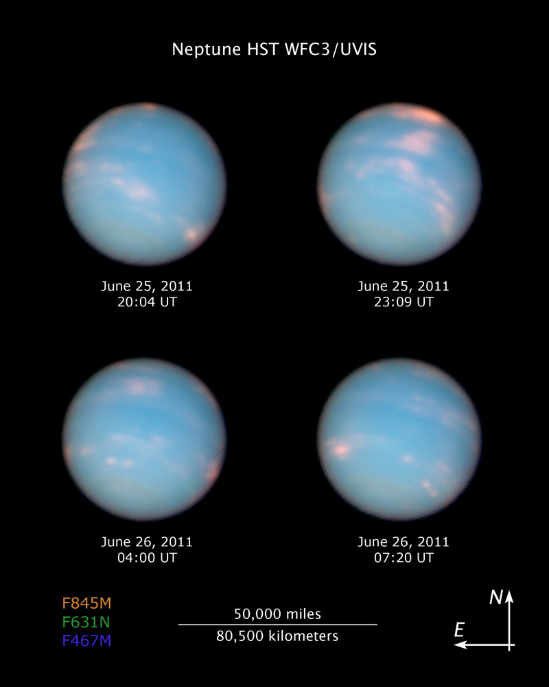 The Urban Astronomer One Year On Neptune