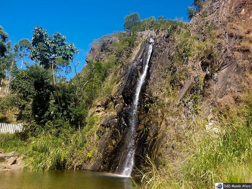 Cachoeira da Santa - O que fazer em Catas Altas, Minas Gerais. Foto: Miguel Sá