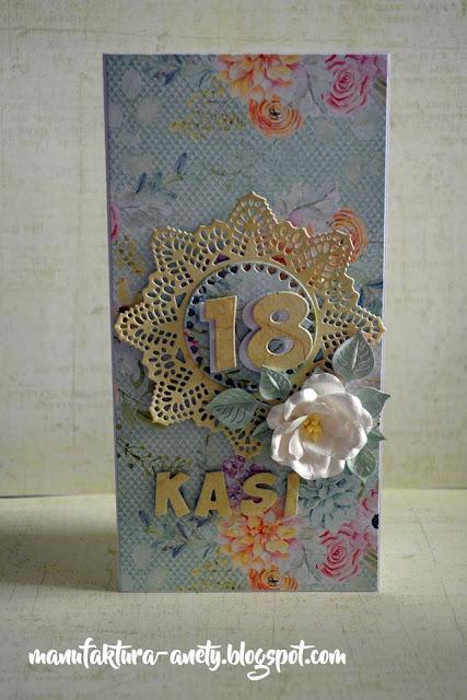 kartka urodzinowa dla Kasi