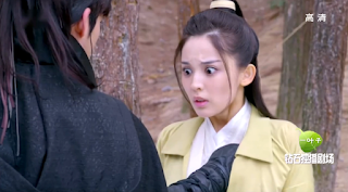 Gu Li Na Zha in The Classic of Mountains and Seas, a Chinese fantasy series