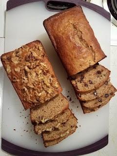 How to make Whole Wheat Cream Cheese Banana Bread.