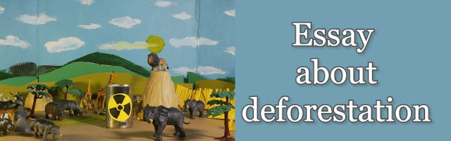 Essay about deforestation   Effects of deforestation