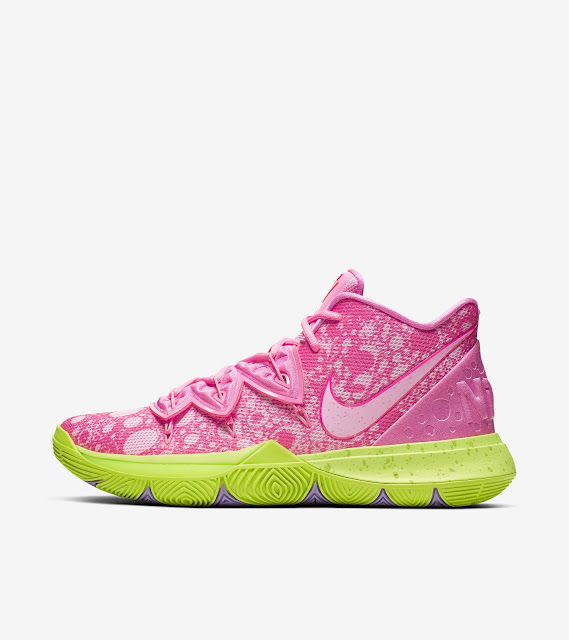 low priced 9b48d 2a6bd NickALive!: Nike Kyrie 5 X SpongeBob SquarePants ...