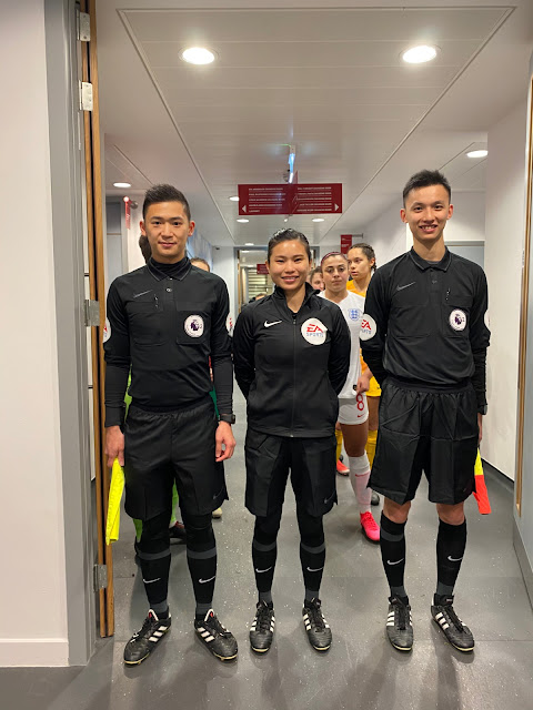 Referees from Hong Kong Football Association Participate in Exchange