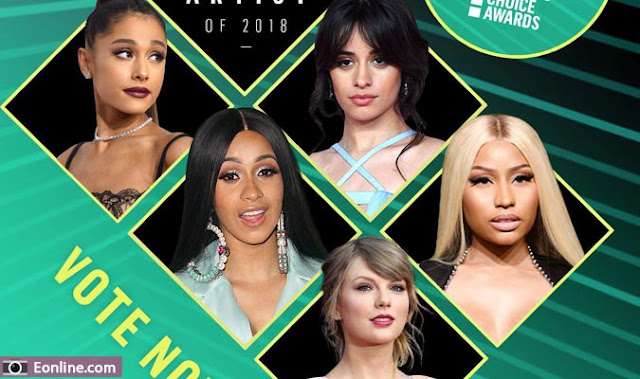 جوائز اختيار الناس 2018 : القائمة الكاملة للمرشحين People's Choice Awards 2018