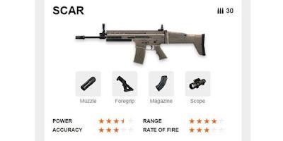 SCAR Free Fire