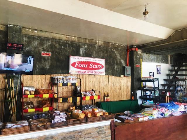 Four Stars Tinubong and Native Delicacise Sto Domingo Ilocos Sur