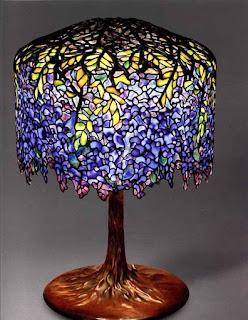 Lampada Tiffany Wisteria la storia delle grandi icone del design
