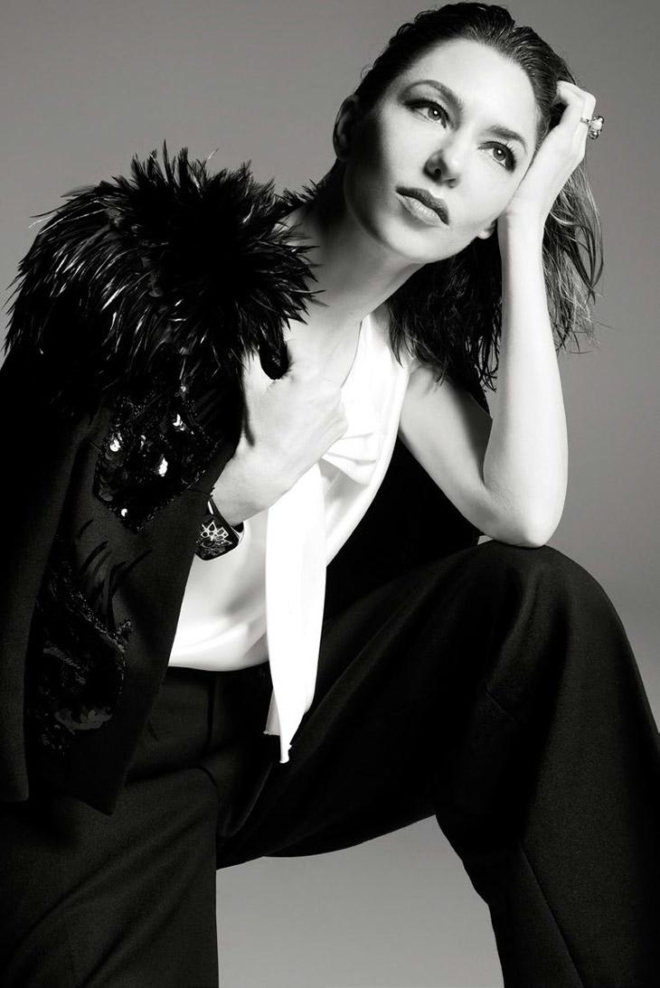 fashion inspiration   editorial: sofia coppola by steven meisel