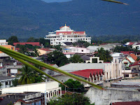 Elevated image of Pakse, Laos