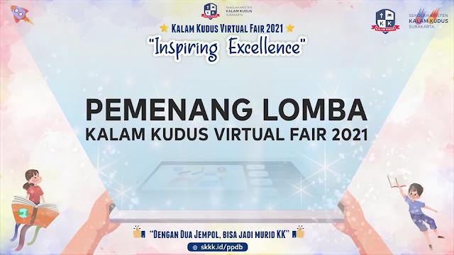 Pengumuman Lomba Kalam Kudus Fair 2021 - Jenjang SD SMP & SMA