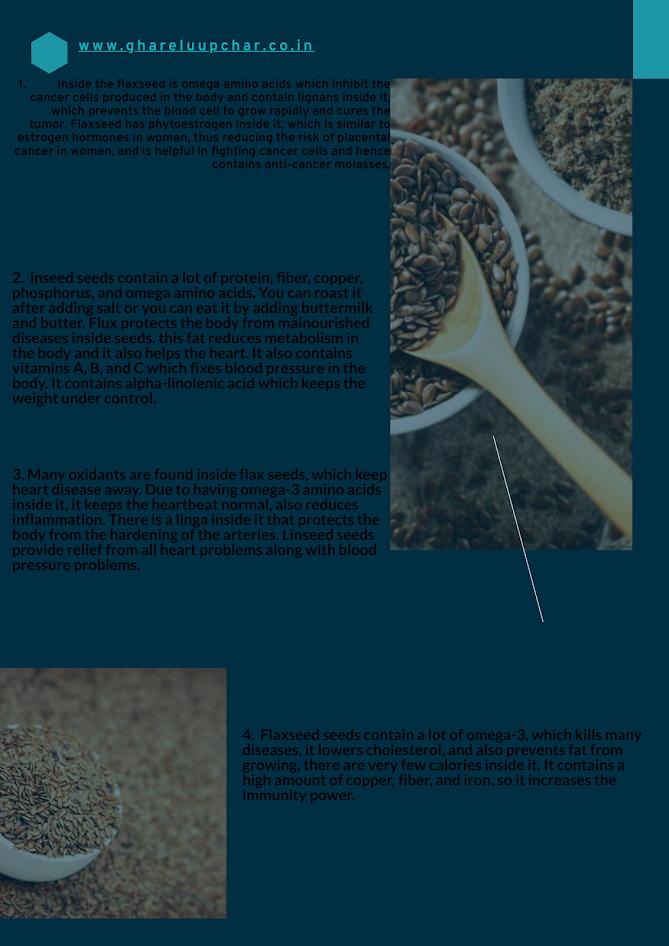 Flax seed in hindi