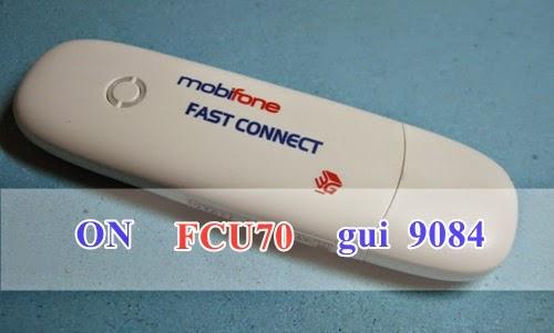 Đăng ký 3G gói FCU70 của Mobifone Fast Connect