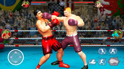TAG TEAM BOXING GAME: KICKBOXING FIGHTING GAMES (MOD, UNLIMITED GOLD)