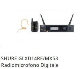 noleggio microfono digitale archetto