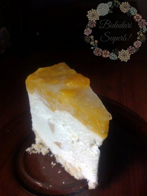 Resepi Cheesecake Mangga No Bake Senang dan Sedap