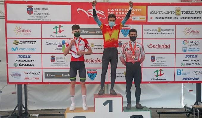 Galicia y Cataluña los primeros triunfadores del Campeonato Nacional de ciclocross 2021