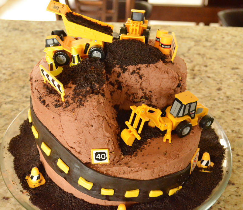 Construction Site Cake Recipe