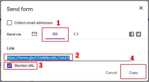 send form link form absensi