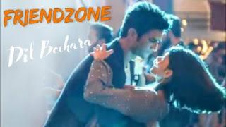 Friendzone Lyrics Dil Bechara A R Rahman ft Sushant Singh Rajput